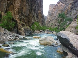 black canyon of the gunderson national park