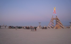 Het Burning Man Festival in Black Rock City