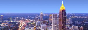 Georgia Atlanta skyline