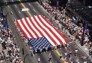 4. Juli Parade am Meer homosexuell