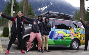Op pad met Wicked Campers!