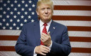 Donald Trump de nieuwe president van Amerika